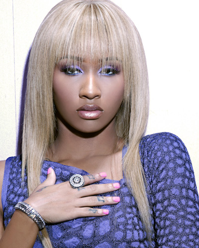 Rapper diamond goes blonde my favorite hair care for Haute hairie